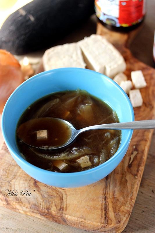 soupe radis noir