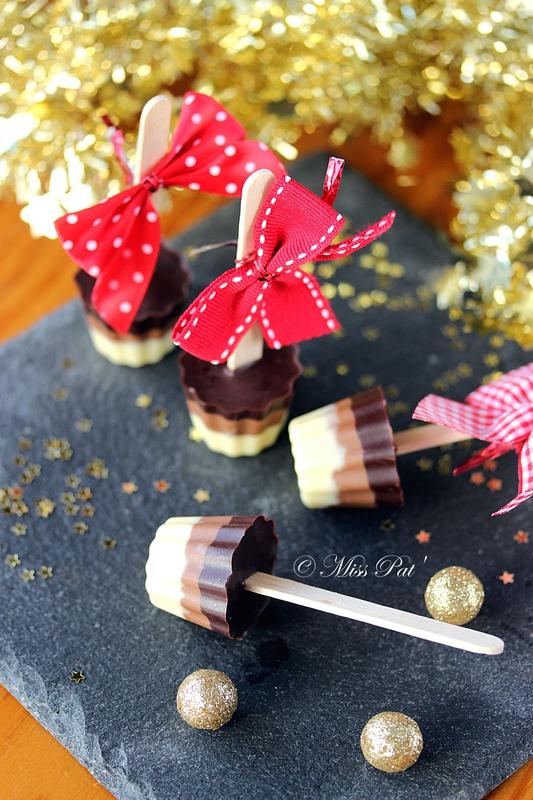 sucettes tricolores pour chocolat chaud ou croquer miss pat 39. Black Bedroom Furniture Sets. Home Design Ideas