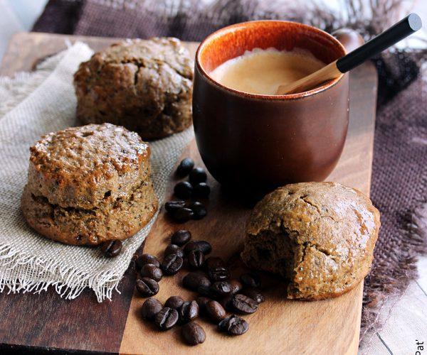 Scones au café, et le coffret de Maxicoffee