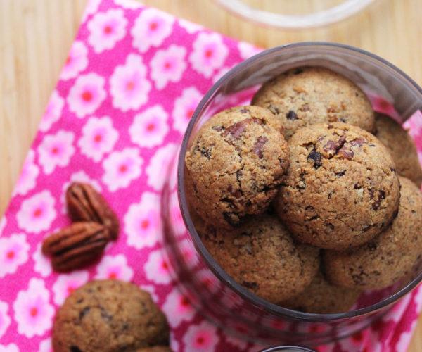 Cookies au café et aux noix de Pécan