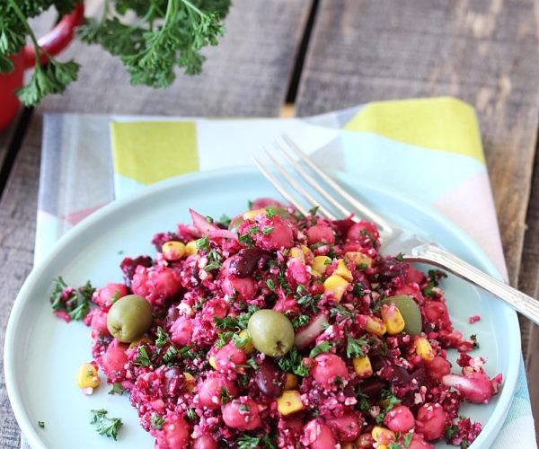 3 recettes de salades gourmandes, équilibrées, aux couleurs chatoyantes !