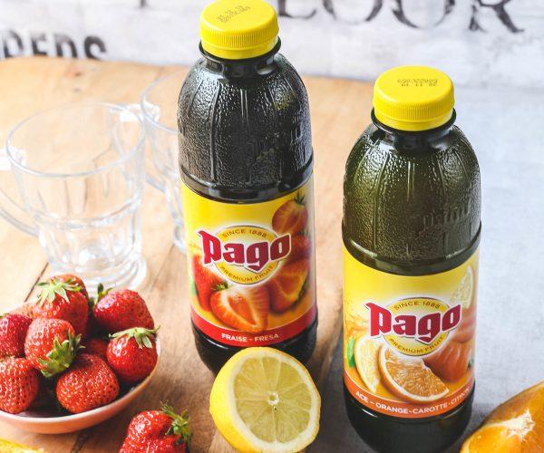Les jus de fruits Pago, Shopmium et la gamme bio
