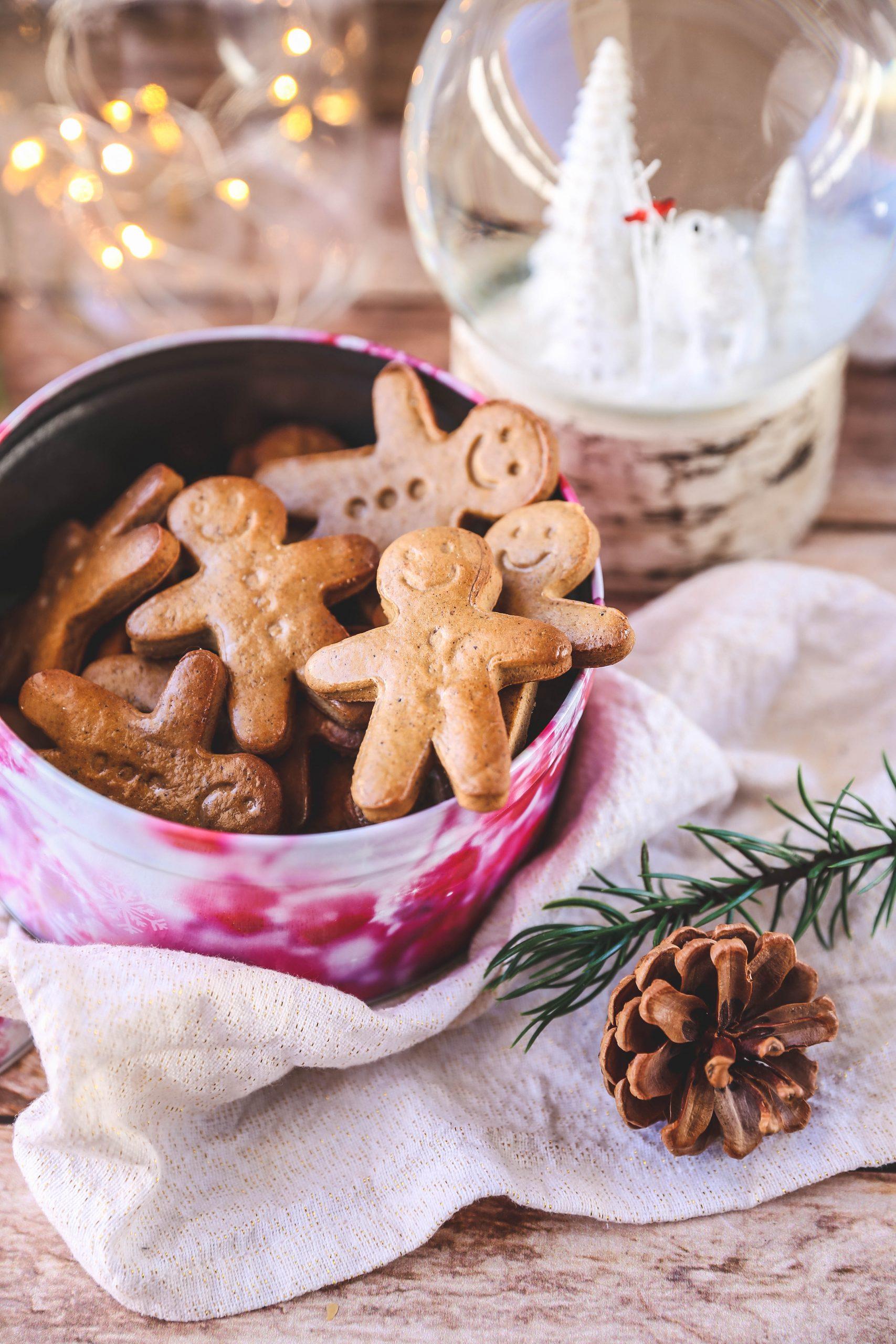 Bonshommes biscuités saveur pain d'épices